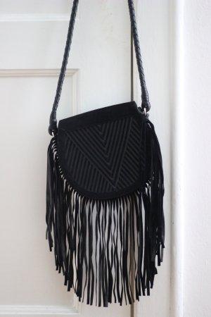 Lili Radu Fringe Saddle Bag