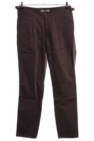 Lilienfels Pleated Trousers brown casual look