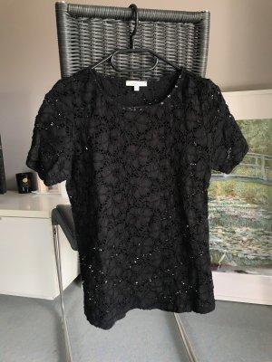 Lilienfels Gehaakt shirt zwart