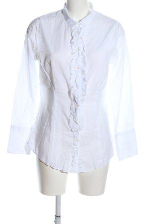 Lilienfels Hemd-Bluse weiß Casual-Look