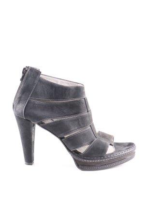 Lilienfels High Heel Sandaletten schwarz Casual-Look