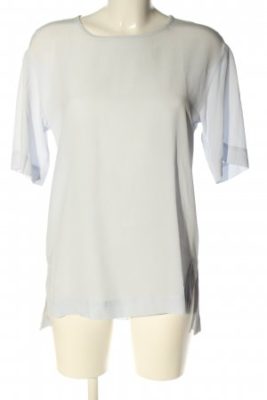 Lilienfels Kurzarm-Bluse creme Casual-Look