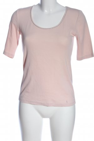 Lilienfels Kurzarm-Bluse pink Casual-Look