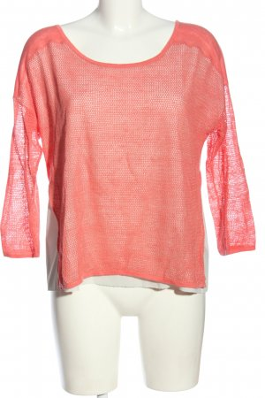 Lilienfels Long Sleeve Blouse red-white casual look