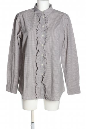 Lilienfels Long Sleeve Shirt light grey-white allover print business style