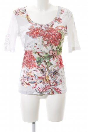 Lilienfels Print-Shirt Allover-Druck Casual-Look