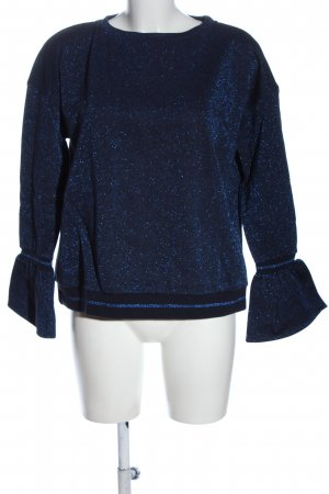 Lilienfels Crewneck Sweater blue flecked casual look