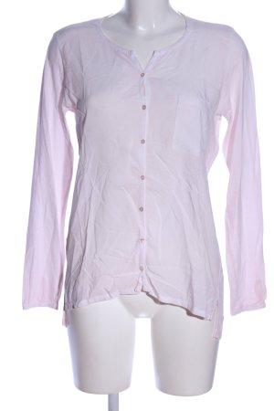 Lilienfels Transparenz-Bluse pink Business-Look