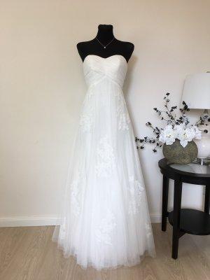 Lilly A-Linie Brautkleid Hochzeitskleid Gr. 34-38 Ivory