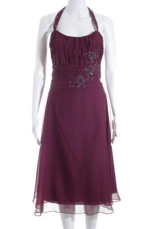 Lilly Abendkleid purpur Party-Look