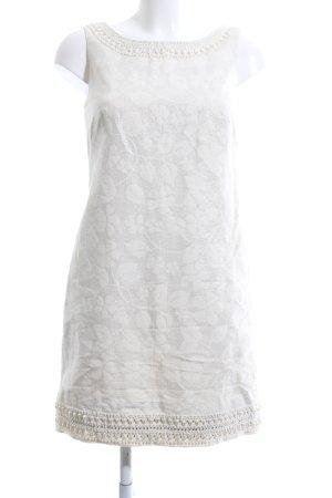 Lilly Pulitzer Etuikleid weiß-silberfarben Blumenmuster Elegant