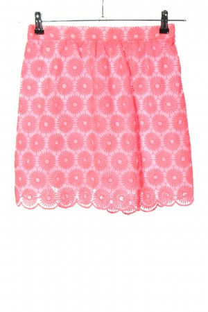 Lilly Pulitzer Pleated Skirt pink allover print casual look