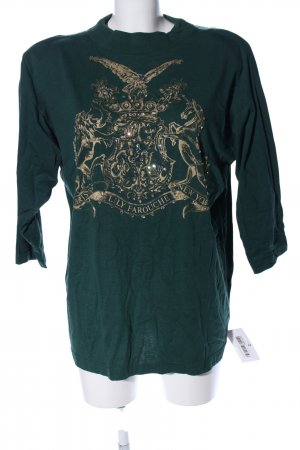 Lily Farouche Oversized Shirt khaki-goldfarben Casual-Look