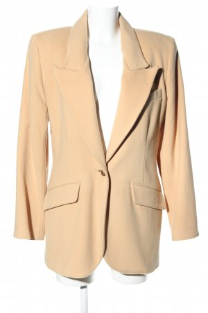 Lily Farouche Woll-Blazer creme Casual-Look