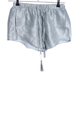Lily White Shorts silberfarben Elegant