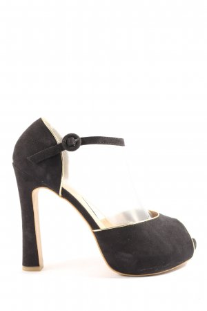 Limelight Peeptoe Pumps schwarz Casual-Look