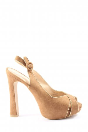 Limelight Peeptoe Pumps braun Casual-Look