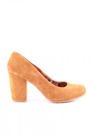 Limelight Plateau-Pumps hellorange Casual-Look