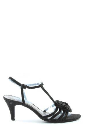 Limelight Sandalias de tacón de tiras negro look casual
