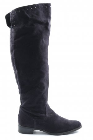 Limelight Wide Calf Boots blue casual look