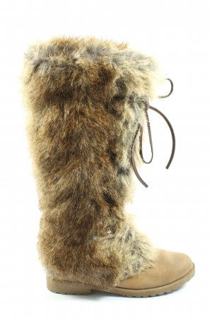 Limelight Buty zimowe brązowy Melanżowy W stylu casual
