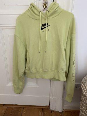 Limettengelber Nike Air Sweater