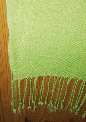Ulla Popken Pashmina lime-green-meadow green