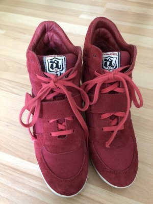 limited a by a.s.h Wedge Sneaker red