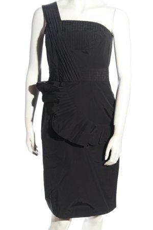 Limited Collection Robe asymétrique noir style extravagant