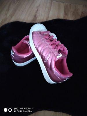 Adidas superstar Zapatillas altas rosa