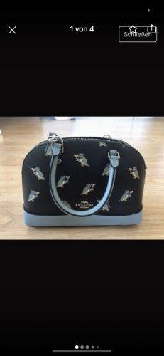 Limited edition COACH owl print Handtasche
