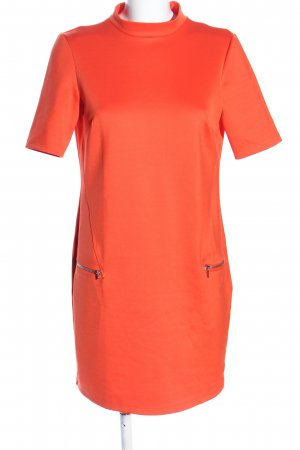 LIMITED EDITION Kurzarmkleid hellorange Casual-Look