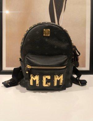 MCM Laptop Backpack gold-colored-black