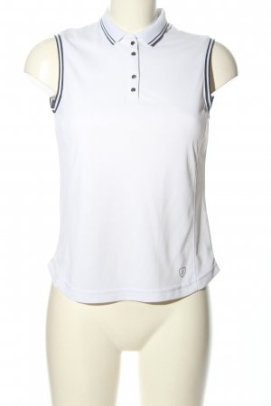 Limited sports Polo Top white casual look