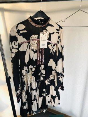 Limitieren Kleid Zara-100% Viscosa