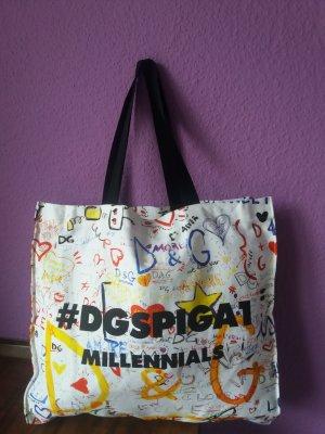 Dolce & Gabbana Canvas Bag multicolored cotton