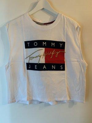 Tommy Jeans Haut évasé en bas multicolore