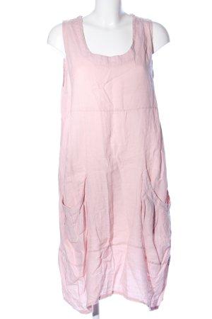 LIN NATURE Trägerkleid pink Casual-Look