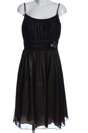 Lin - Riehl Cocktailkleid schwarz-braun Elegant