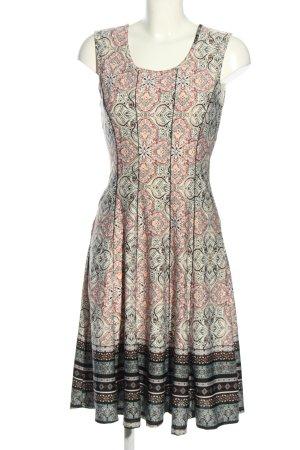 linci Jerseykleid abstraktes Muster Elegant
