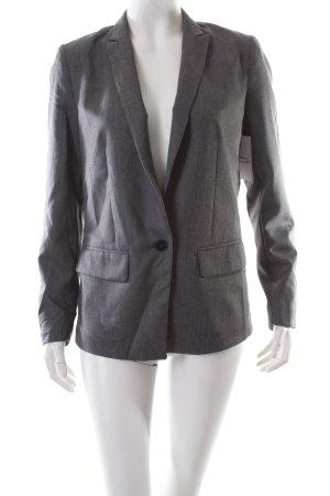 Lindex Kurz-Blazer grau Business-Look