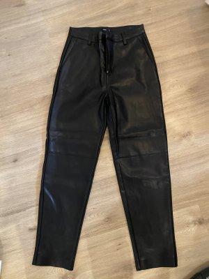Lindex Pantalone in pelle nero