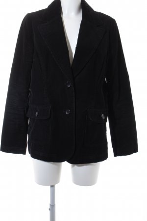 Lindex Kurz-Blazer schwarz klassischer Stil