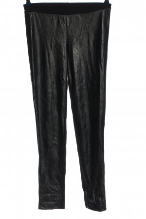 Lindex Pantalone a sigaretta nero stile casual
