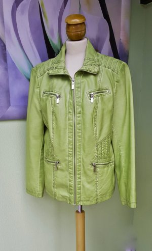 Canda Leather Jacket lime-green
