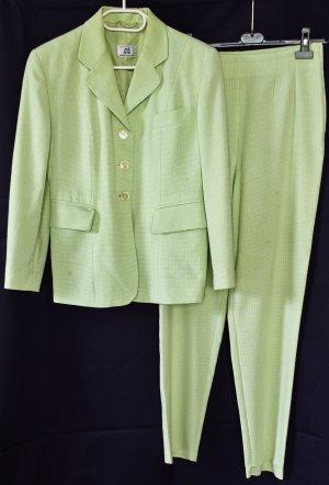 Alba Moda Tailleur-pantalon vert pâle-vert clair tissu mixte