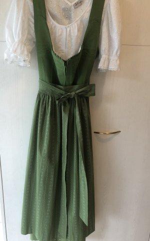 Lindgrünes Baumwolle Dirndl von Hammerschmid