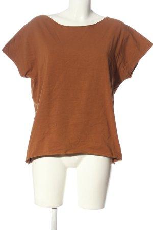 Lindsay Moda Basic Shirt brown casual look