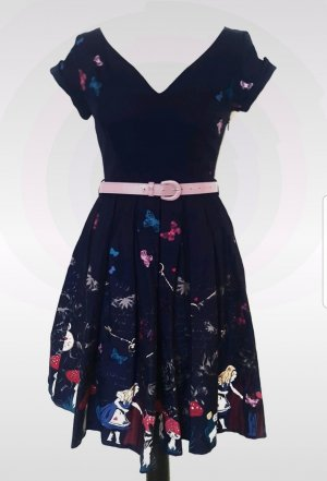 Lindy Bop Kleid Sommerkleid Alice in wonderland retro vintage
