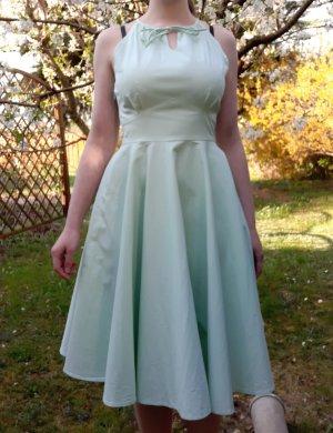 Lindy Bop Top Vintage Kleid Pastel Green Gr. 36 mintgrün